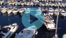 Docking a Yacht Monaco Style